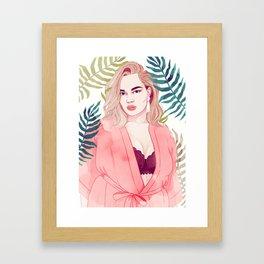 Tara's Garden Framed Art Print