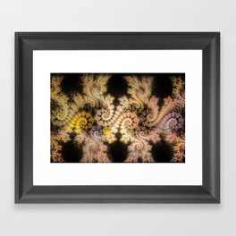 Jupiter's Dragons Framed Art Print
