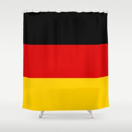 National flag of Germany Shower Curtain