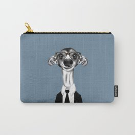 Greyhound in suit Carry-All Pouch