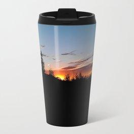 dusk over the ranch Travel Mug