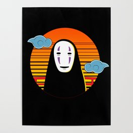 No Face a Lonely Spirit Poster