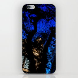 Castle through the trees iPhone Skin