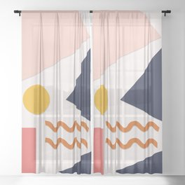 Nouille Sheer Curtain