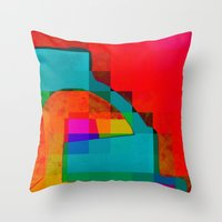Throw Pillows featuring WarmWinter by Susana Paz