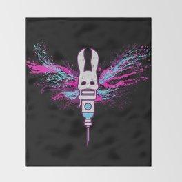 Little Moth Throw Blanket