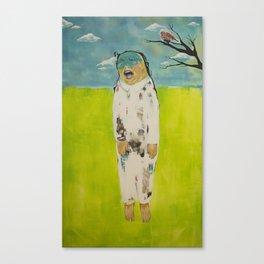 eror, teror, happiness Canvas Print