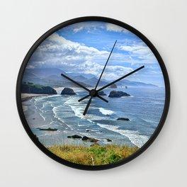 The Quintessential Oregon Coast Wall Clock