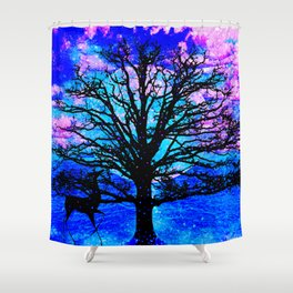TREE ENCOUNTER Shower Curtain