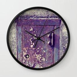 little door Wall Clock
