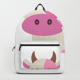 Strawberry Cow Backpack