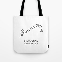 INNOVATION by ISHISHA PROJECT Tote Bag