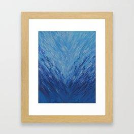 Ocean Heart Break Framed Art Print