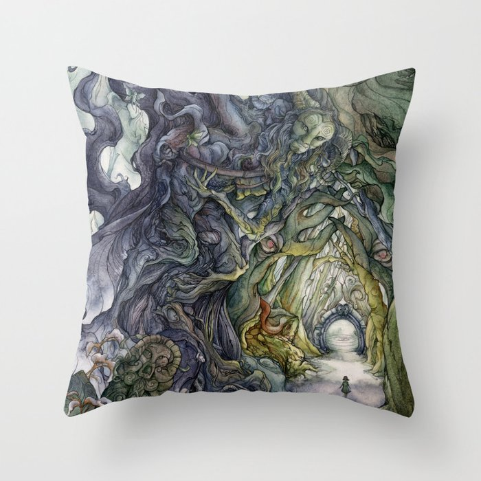 Only They Pronounce My Name Throw Pillow By Farynhughes Society6
