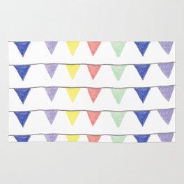 Cheerful pennants Rug