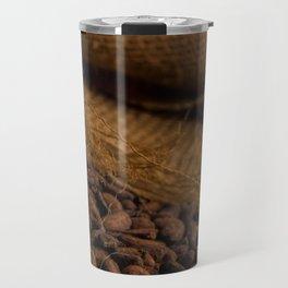Aroma a Cacaco - Texture 2 Travel Mug