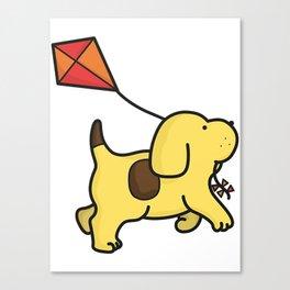 Spot the Dog Canvas Print