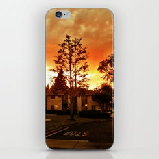 Sky at dusk. iPhone & iPod Skin