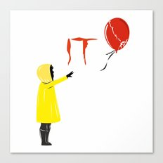 IT clown Pennywise Canvas Print