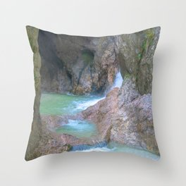Maybe water spirits live here? Throw Pillow
