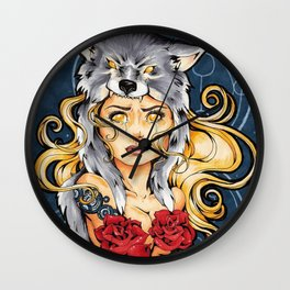 I Want You Safe (II) Wall Clock