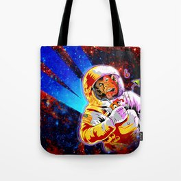 SPACE CHIMP Tote Bag