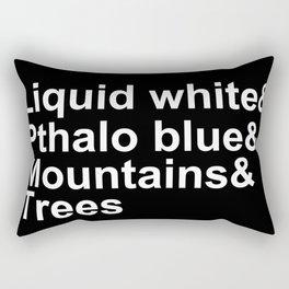 Bob Ross Ampersand Rectangular Pillow