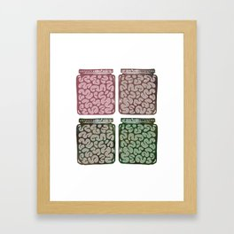 Think outside the jar Framed Art Print