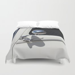 Traction 15 - 6 cyl 1949 Ivoire Duvet Cover