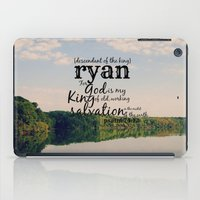 ryan gosling iPad Cases featuring Ryan by KimberosePhotography
