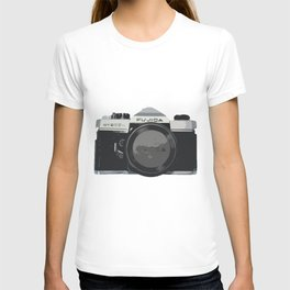 Film Camera Pop Art T-shirt