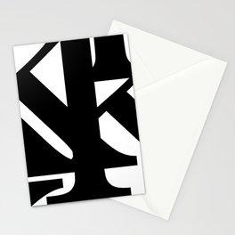 Hidden Letters. Baskerville K Stationery Cards