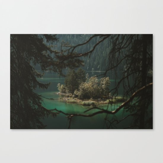 Framed by Nature - Landscape Photography Canvas Print