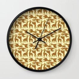 Little Giraffe Wall Clock