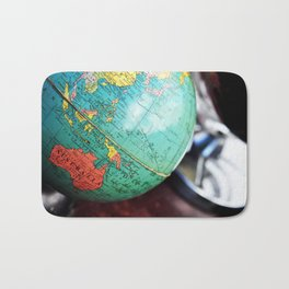 See the whole world! Bath Mat