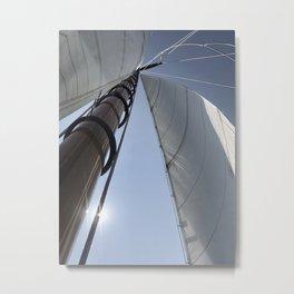 Sail Newport Metal Print