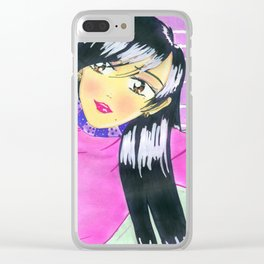 The Emiko Chill Clear iPhone Case
