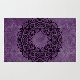 Circle in Purple Rug
