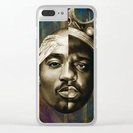 2 PAC & BIGGIE Clear iPhone Case