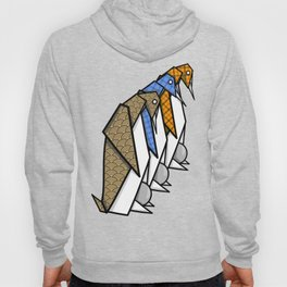 Origami Penguins Hoody