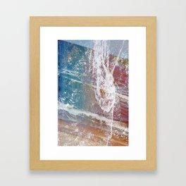 Let Go (Dandelion) Framed Art Print