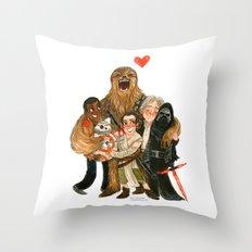 Force Awakens Hug! Throw Pillow