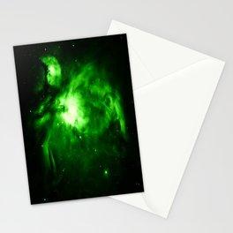 Orion NEBUla : Green Stationery Cards