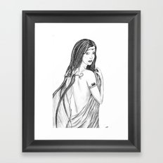 Innocent Seduction of the Fae Framed Art Print