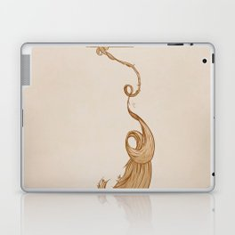 Rapunzel. Laptop & iPad Skin