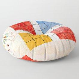 "Hilma af Klint ""The Ten Largest, No. 10, Old Age, Group IV"" Floor Pillow"