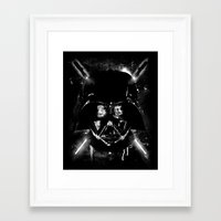 sith Framed Art Prints featuring Sith Lord by Li.Ro.Vi