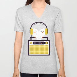 Radio Mode Love Unisex V-Neck