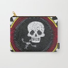 Zia Skeleton Carry-All Pouch
