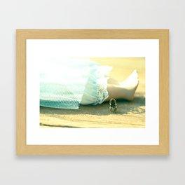 Alice's Escapades ~ Alice & The Chair II Framed Art Print